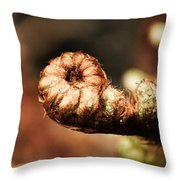 Young Fern Throw Pillow