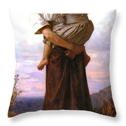 Young Gypsies Throw Pillow