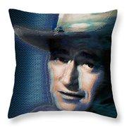 Young John Wayne Pop 2 Throw Pillow