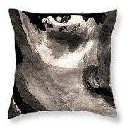 Young Leo Throw Pillow