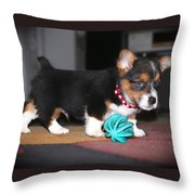 Young Otis Ray 2 Throw Pillow
