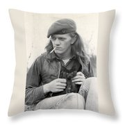 Young Pete Throw Pillow