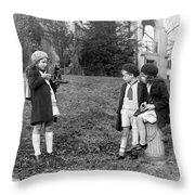 Young Photographer, C1915 Throw Pillow