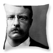Young Theodore Roosevelt Throw Pillow