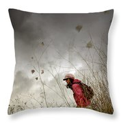 Young Walker Throw Pillow