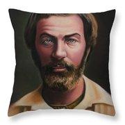 Young Walt Whitman Throw Pillow