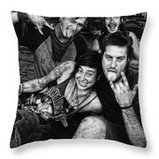 Young Wanderers  Throw Pillow