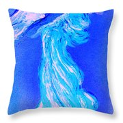 Your Angel Is Waiting II Throw Pillow