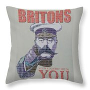 Your Country Needs You Throw Pillow