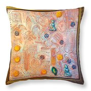 Your Decepting Confusing Lies By Alfredo Garcia Art Throw Pillow