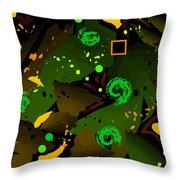 Your Green Throw Pillow