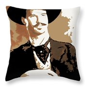 Your Huckleberry Throw Pillow