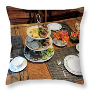 Your Invited To A Tea Party Throw Pillow