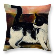 Your Pets Commission Me To Paint Throw Pillow