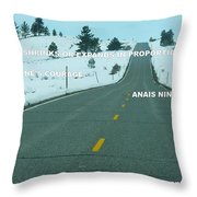 Your Road Throw Pillow