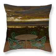 Your Table Is Ready Throw Pillow