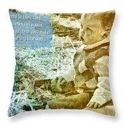 Your Tiny Little Seed Throw Pillow