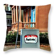 Youre Awesome Throw Pillow