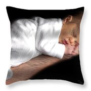 You're In Good Hands -  Featured In 'comfortable Art' And Notecard Possibilities Groups Throw Pillow