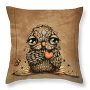 You're On My Heart Throw Pillow by Karin Taylor