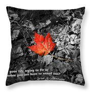 You're One Of A Kind Throw Pillow