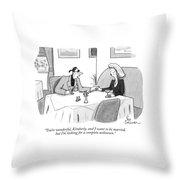 You're Wonderful Throw Pillow
