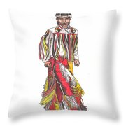 Youth Dance Throw Pillow