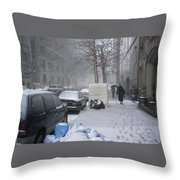 Youth Passing Old Age Throw Pillow