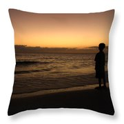 Youth Visions Throw Pillow