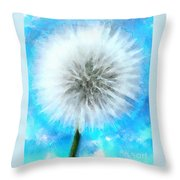 Youthful Wish Throw Pillow