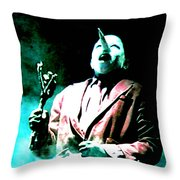 You've Been Gone Damn Near Two Years Throw Pillow by Ludzska
