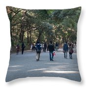 Yoyogi Park Throw Pillow