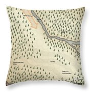 Yrchyn The Tyrant Kobold Kobold Campsite Throw Pillow
