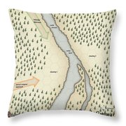 Yrchyn The Tyrant Party's Campsite Throw Pillow