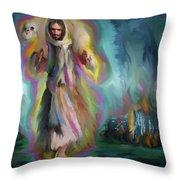 Yshuwh Yhwh Saves Throw Pillow