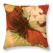 Yucca Abstract Warm Throw Pillow