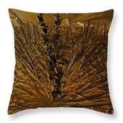 Yucca Gold Throw Pillow