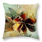 Yucca Pod - Barbara Chichester Throw Pillow