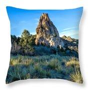 Yucca Uprising Throw Pillow