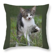 Yuck Throw Pillow