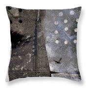 Yuki Desu  It Is Snowing Throw Pillow
