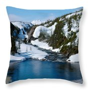 Yukon View Throw Pillow