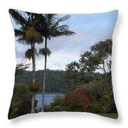 Yungaburra Lake View Throw Pillow