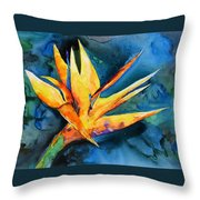 Yupo Paradise Throw Pillow
