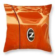 Z Emblem P Throw Pillow