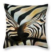 Z Love Throw Pillow