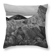 Zabraski Point Death Valley Img 4359 Throw Pillow