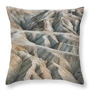 Zabriskie Point Death Valley Throw Pillow