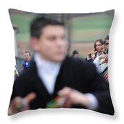 Zangarron Mascarade 3 Throw Pillow