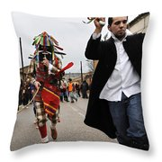 Zangarron Mascarade 4 Throw Pillow
